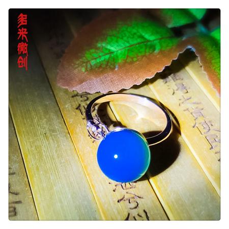 编号:A293M 新品18k南非足反钻石蓝珀戒指,净水天空蓝 戒指可以说是一身搭配的点睛之笔,无论是拿起咖啡杯的瞬间还是撩拨头发的细节,戒指都体现了你的品味